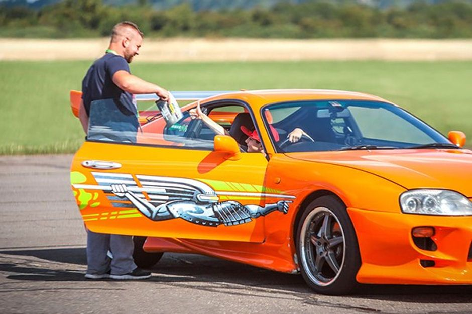 Junior Toyota Supra Driving Experience
