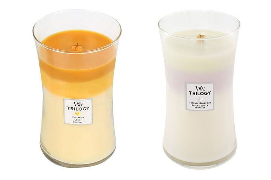 Trilogy Wooden Wick Candles
