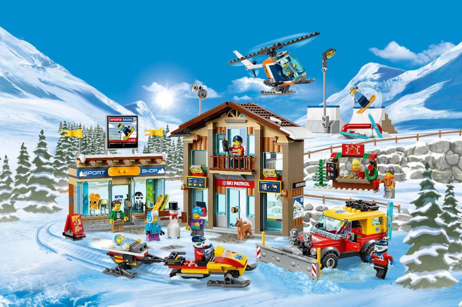 LEGO City Town Ski Resort Set