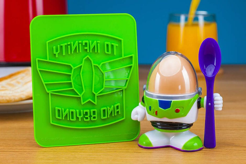 Buzz Lightyear Egg Cup & Toast Cutter