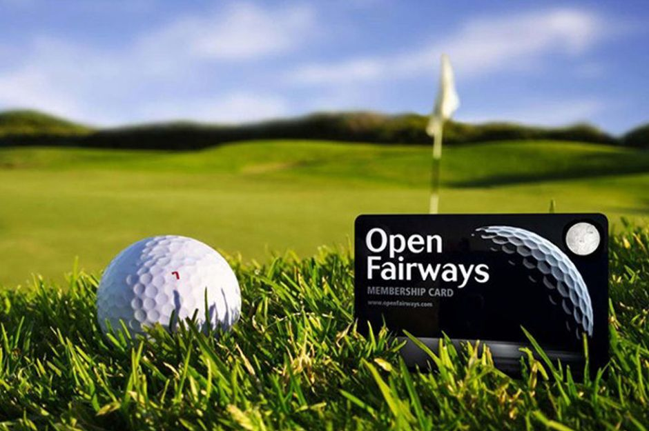 Open Fairways Annual Privilege Card