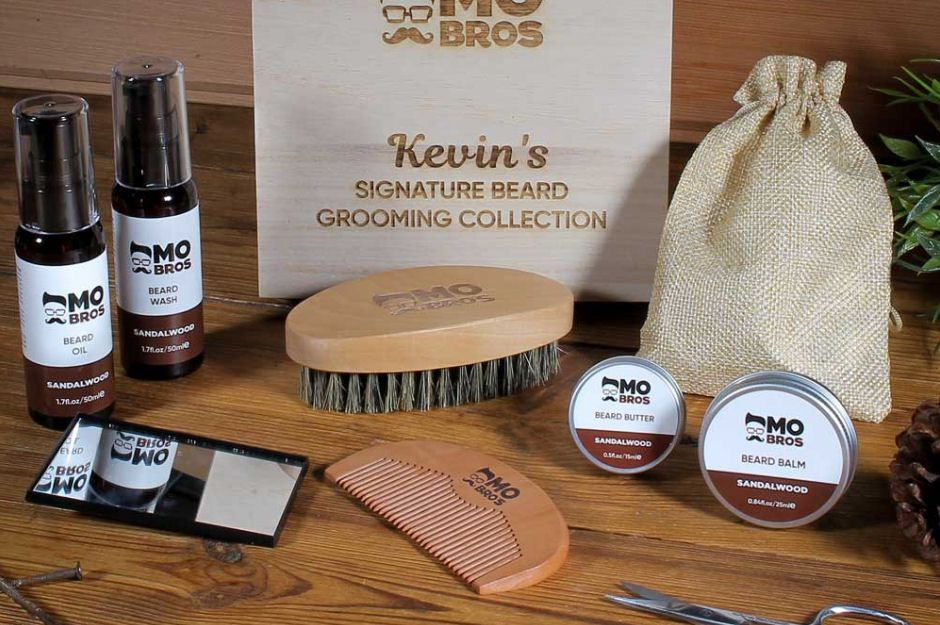Personalised Beard Grooming Gift Box
