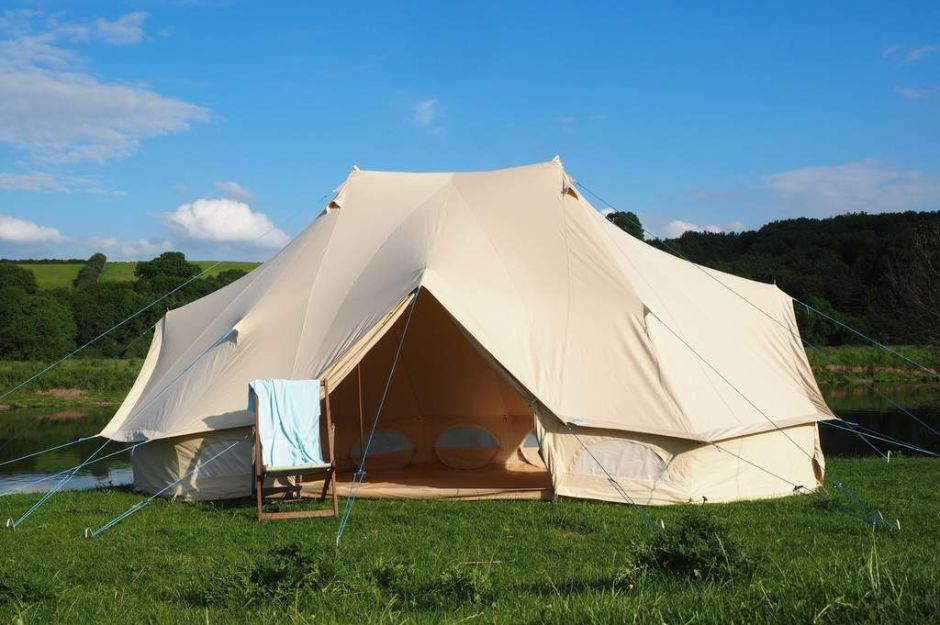 6x4M Emperor Bell Tent with Stove Hole