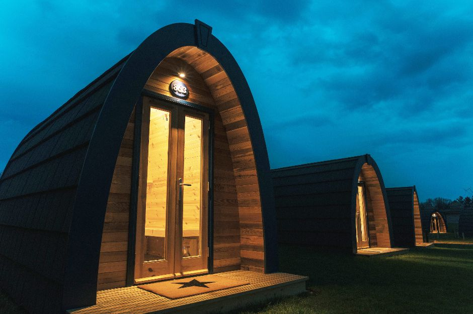 Alton Towers Stargazing Pods Family Break