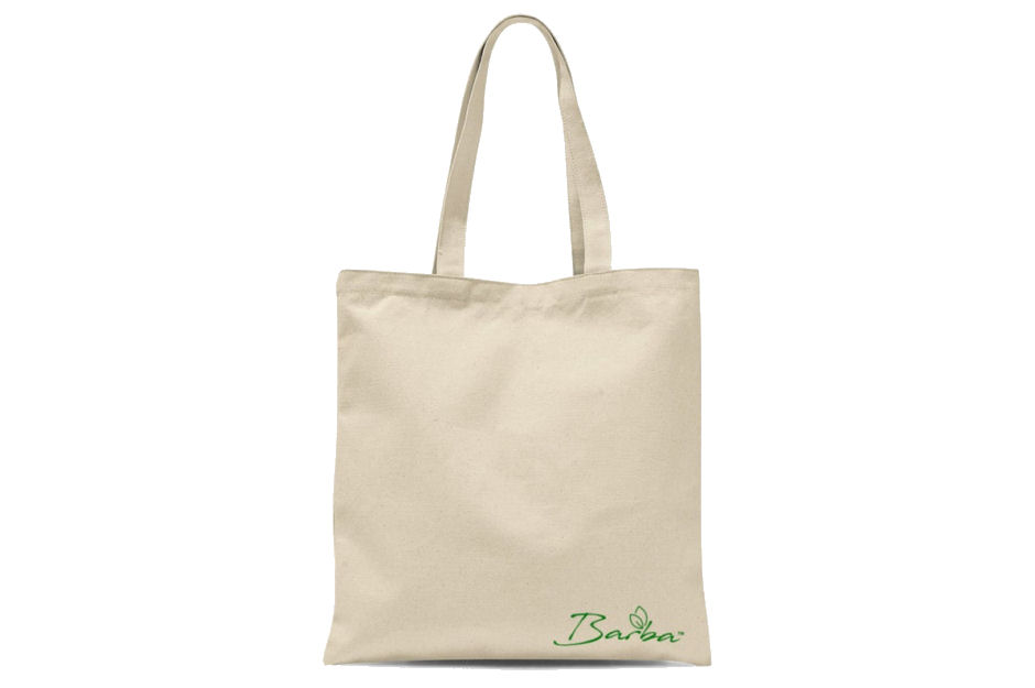 Barba Recycled Cotton Tote Shopping Bag