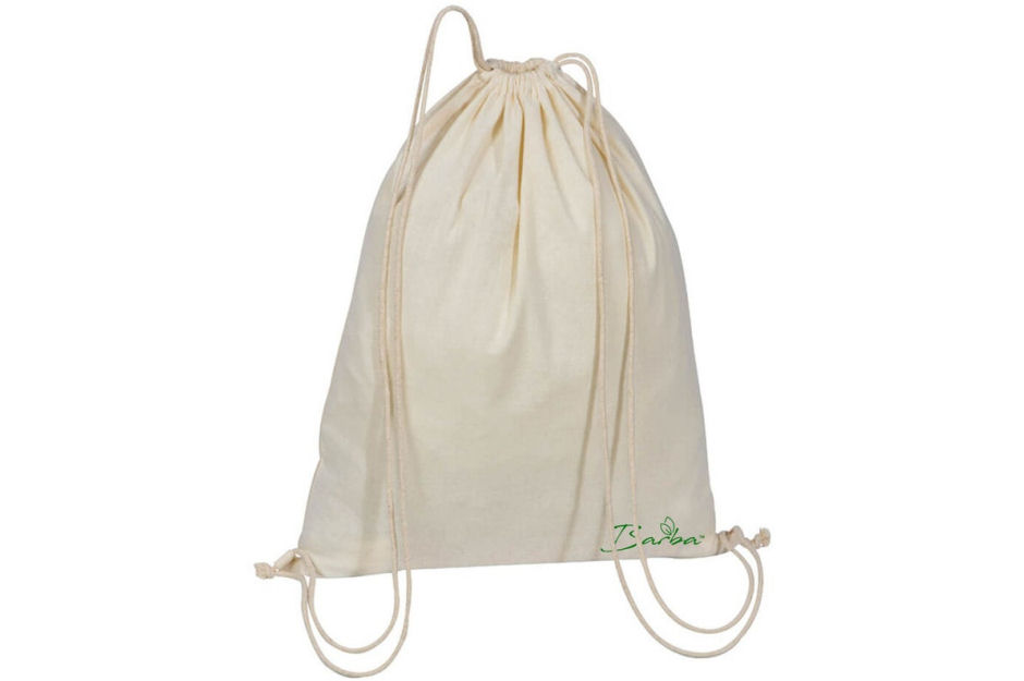 Barba Recycled Cotton Drawstring Bag