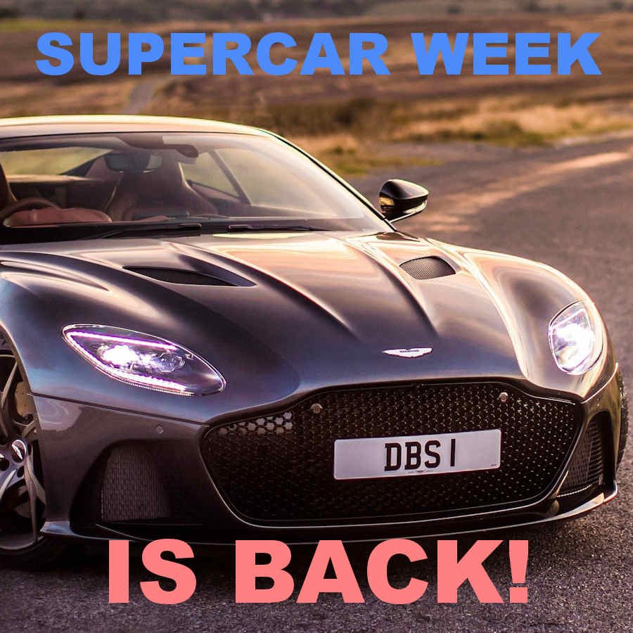 Supercar Week Is Back - Are You Best Of The Best?