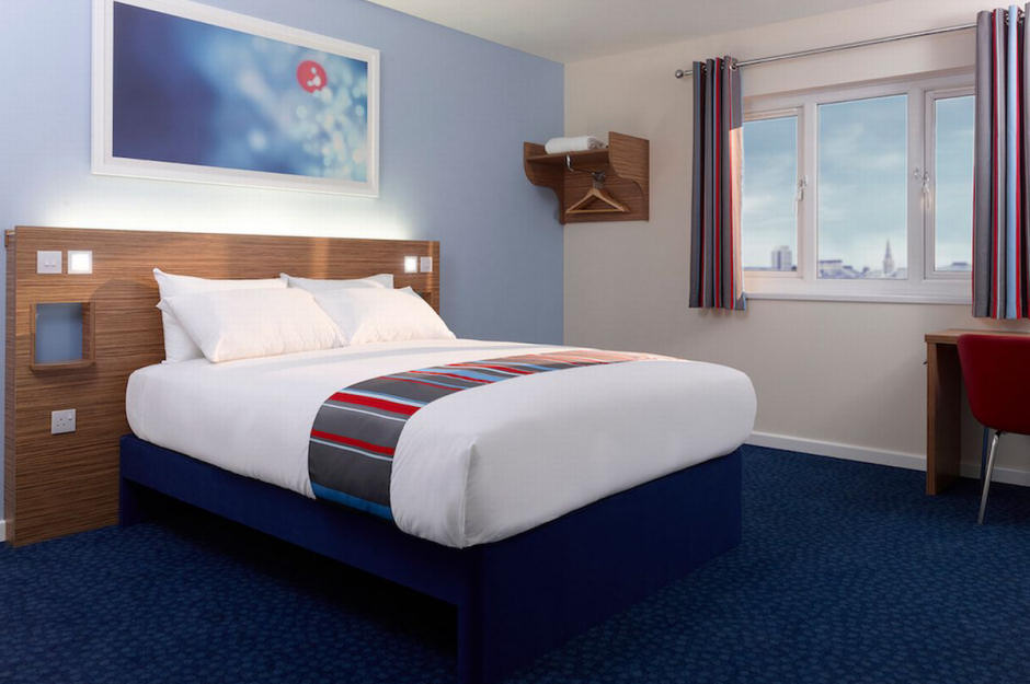 Stay overnight with Travelodge